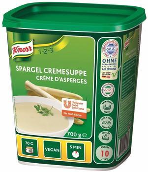 Knorr Spargel Cremesuppe intensiver Spargelgeschmack Großpackung 700g