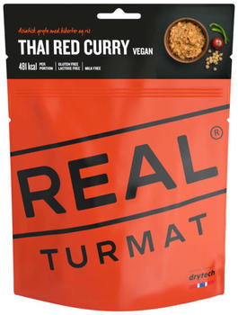 Real Turmat Vegan Thai Red Curry with Rice (113g)