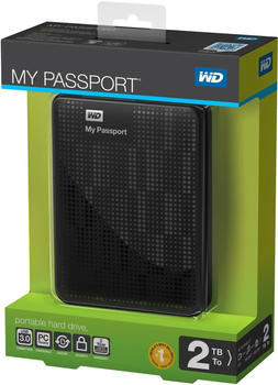 Western Digital My Passport WDBY8L0020BBK-EESN 2TB