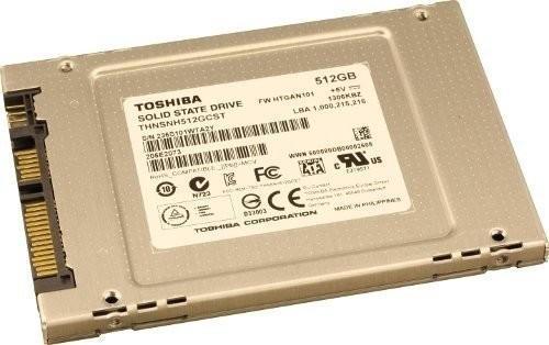 Toshiba THNSNH 512 GB SSD