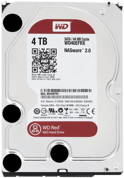 Western Digital WD40EFRX RED 4000 GB
