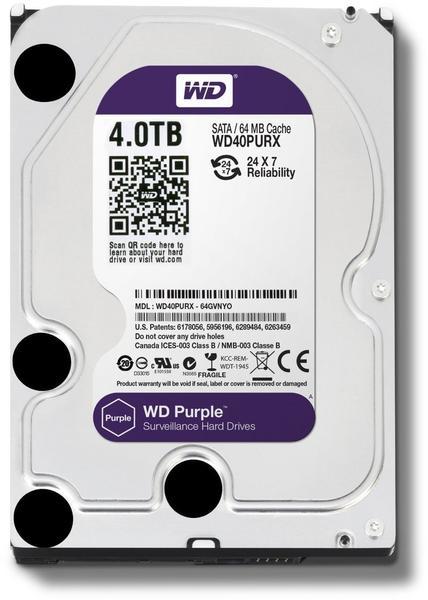 Western Digital WD40PURX 4 TB