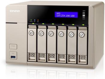 QNAP TVS-663-8G - Leergehäuse