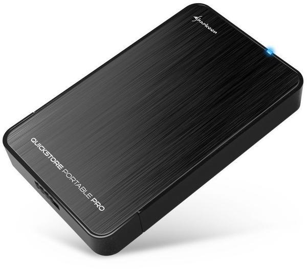 Sharkoon QuickStore Portable Pro USB 3.0 schwarz