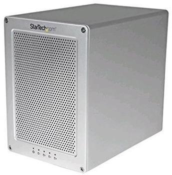 "StarTech.com 4-Bay 3.5"" SATA Hard Drive RAID Enclosure"