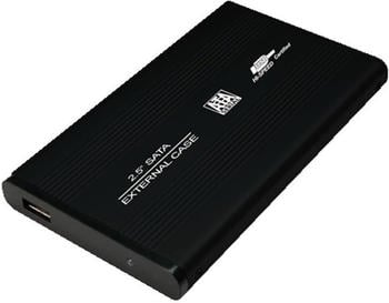 LogiLink 2.5 SATA USB 2.0 Alu (UA0041B) schwarz