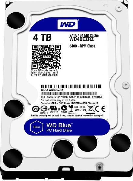 Western Digital Blue Desktop SATA 4TB (WD40EZRZ)