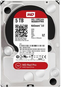Western Digital Red Pro NAS 5TB (WD5001FFWX)