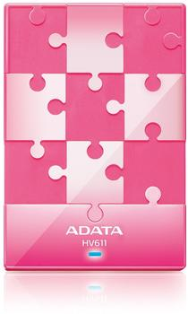 A-Data DashDrive HV611 1TB USB 3.0 pink
