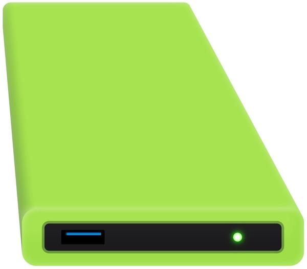 HipDisk HD-GR-00 Festplattengehäuse 6,4 cm (2,5 Zoll) grün