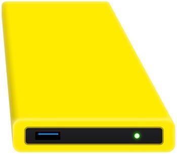 Digittrade HipDisk 2TB gelb