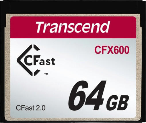 Transcend CFX600 CFast 2.0 Card - 64 GB