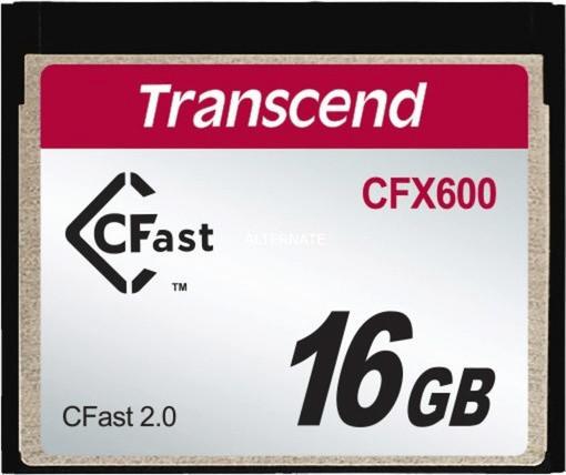Transcend CFX600 CFast 2.0 Card - 16 GB