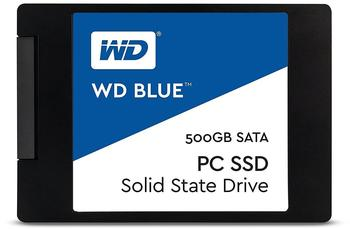 Western Digital Blue PC SSD 2,5 500 GB - SSD, 2,5, 545 MB/s 525 MB/s