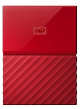 Western Digital My Passport Portable 1TB USB 3.0 rot (WDBYNN0010BRD-WESN)