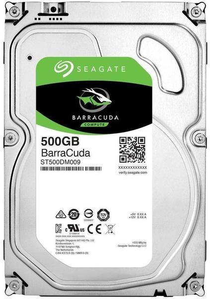 Seagate BarraCuda 500GB (ST500DM009)