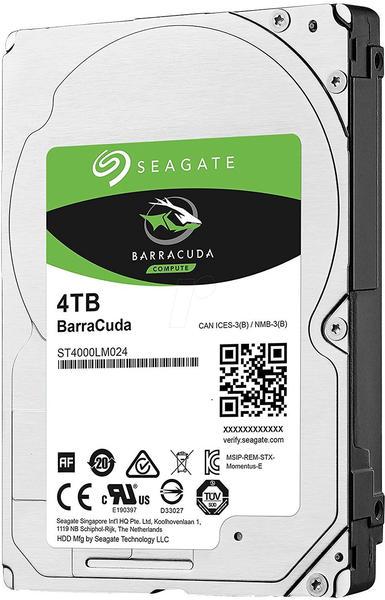 Seagate BarraCuda 4TB (ST4000LM024)