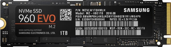 Samsung 960 Evo 250GB M.2