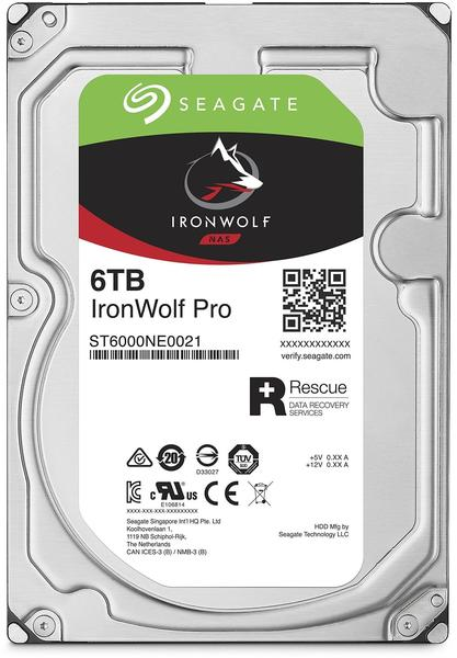 Seagate IronWolf Pro 6TB (ST6000NE0021)