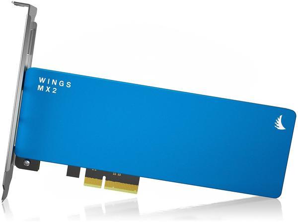 Angelbird Wings MX2 512GB Interne PCIe x2 SSD PCIe 2.0 x2 Retail WMX2-512GB