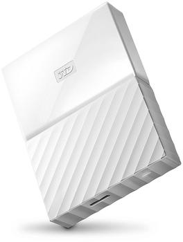 Western Digital My Passport Portable 4TB USB 3.0 weiß (WDBYFT0040BWT-WESN)