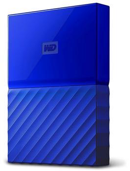 Western Digital My Passport Portable 4TB USB 3.0 blau (WDBYFT0040BBL-WESN)