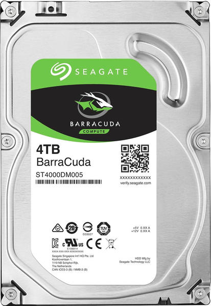 Seagate BarraCuda Compute 4TB (ST4000DM004)