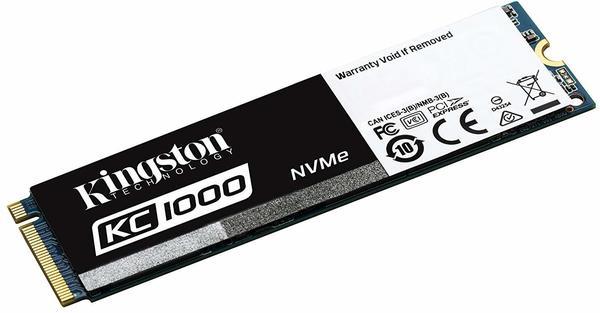 Kingston SSDNow KC1000 240GB M.2