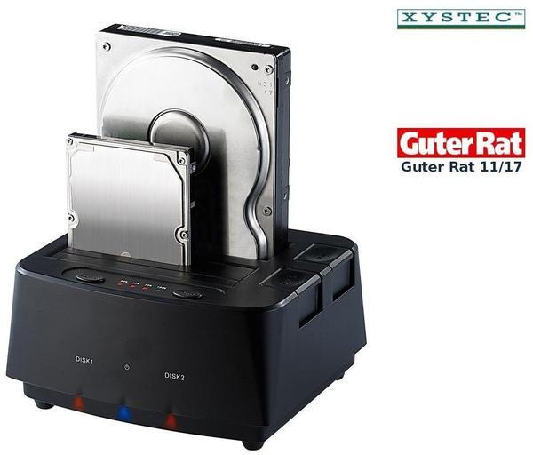 Xystec Festplattendock (Pearl PX-4827)