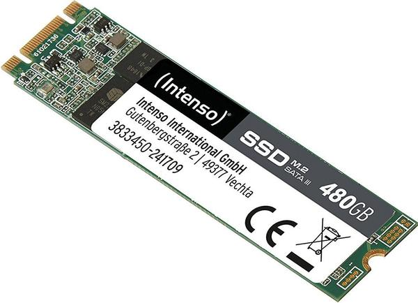Intenso High Performance 480GB M.2