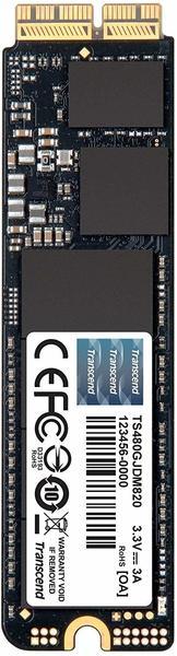 Transcend JetDrive 825 480GB