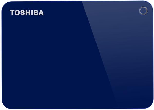 Toshiba Canvio Advance 2TB blau