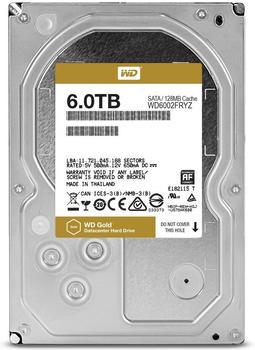 Western Digital Gold Datacenter 6TB (WD6002FRYZ)