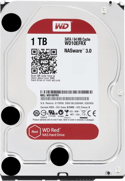 Western Digital Red SATA III 1TB (WD10EFRX)