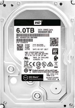 Western Digital Black SATA 6TB (WD6003FZBX)