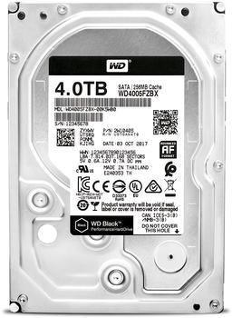 Western Digital Black SATA 4TB (WD4005FZBX)