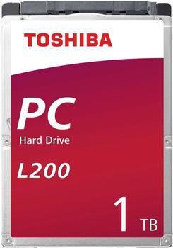 Toshiba Interne Festplatte 6.35cm (2.5 Zoll) L200 Retail HDWL110EZSTA SATA III