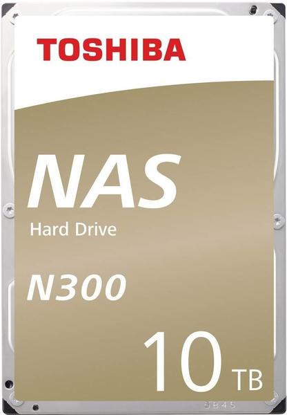 Toshiba Interne NAS-Festplatte 8.9cm (3.5 Zoll) 10TB N300 Bulk HDWG11AUZSVA SATA III