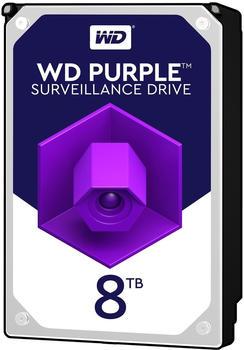 Western Digital Purple 8 TB, Festplatte