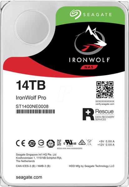 Seagate IronWolf Pro NAS