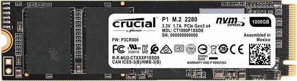 Crucial P1 1TB M.2