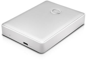 G-Technology G-DRIVE mobile USB-C 4TB silber