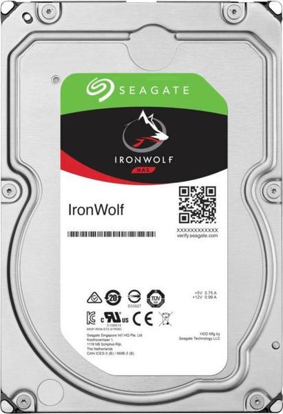 Seagate IronWolf 10TB (ST10000VN0008)