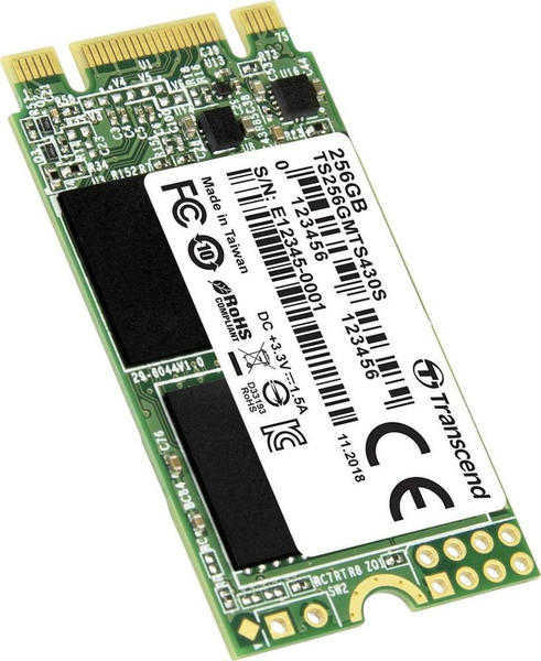 Transcend MTS430S 256GB