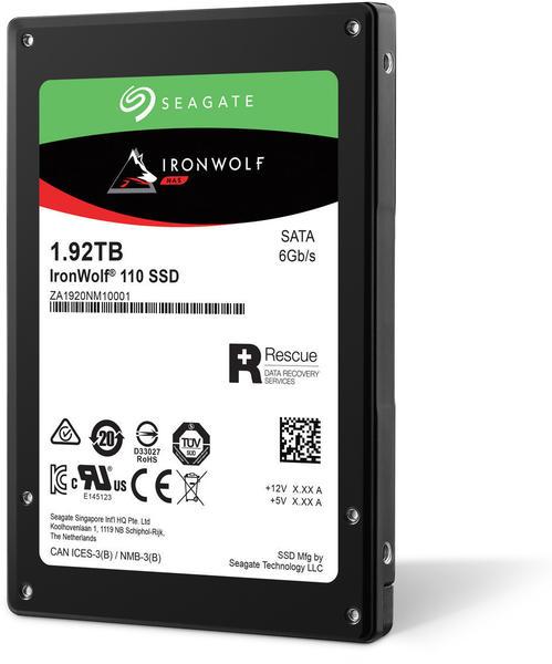 Seagate IronWolf® 110 Interne SSD 6.35cm (2.5 Zoll) 1920GB Retail ZA1920NM10001 SATA III