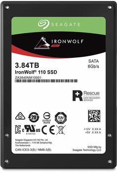 Seagate IronWolf® 110 Interne SSD 6.35cm (2.5 Zoll) 3840GB Retail ZA3840NM10001 SATA III