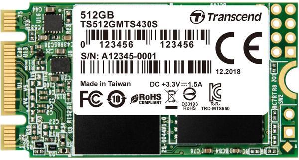 Transcend MTS430S 512GB