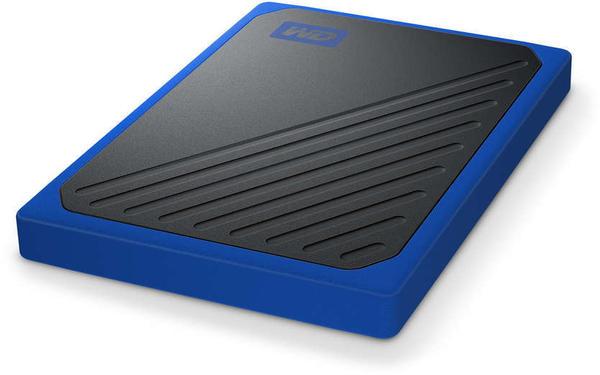 Western Digital My Passport Go SSD 500GB schwarz/blau