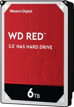 Western Digital Red 3.5 6000 GB Serial ATA III