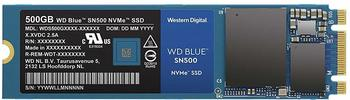 Western Digital WD Blue SN500 NVMe SSD 500GB,